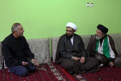 تصاویر/ عیادت امام جمعه همدان از بانوی طلبه آمر به معروف