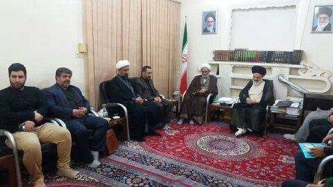 دیدار ستاد امر به معروف استان با آیت الله بوشهری