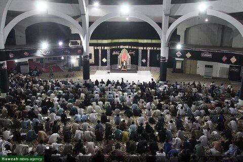 بالصور/ إقامة مجلس العزاء الحسيني في حوزة العروة الوثقى العلمية في لاهور باكستان