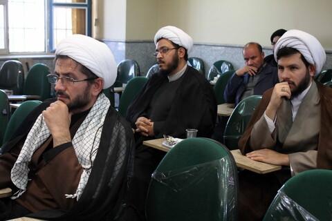 تصاویر/ گردهمایی مبلغان و فرماندهان نیروی انتظامی استان همدان