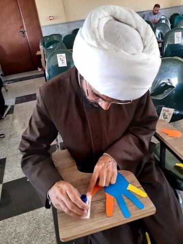 تصاویر/ یک دوره آموزشی متفاوت ویژه طلاب همدانی