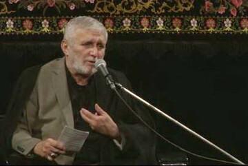 فیلم| مداحی حاج منصور ارضی شب پنجم محرم98