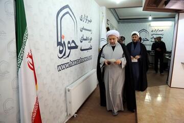 فیلم| بازدید رئیس جامعة المصطفی از رسانه رسمی حوزه