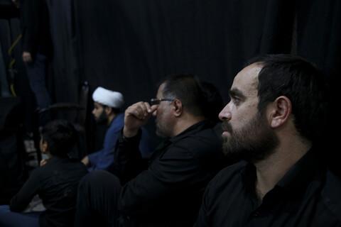 تصاویر/ مراسم عزاداری شب چهارم محرم در هیئت روضه الزهراء اهواز