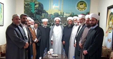 دیدار نماینده ولی فقیه در زاهدان با جبهه عمل اسلامی لبنان