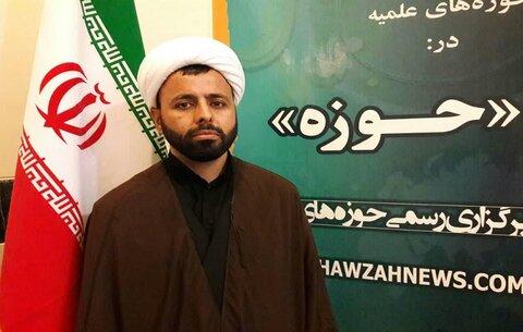 حجت الاسلام قدرت الله خدابنده لو مدیر مدرسه سفیران هدایت مطلع الفجر گیلانغرب