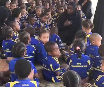 فیلم| عزاداری دلنشین کودکان تانزانیایی