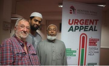 مسجدی در لندنبا هزینه 1.2 میلیون یورو توسعه می یابد