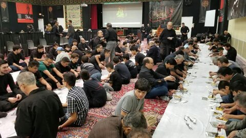 تصاویر/ عزای حسینی در مرکز اسلامی واشنگتن