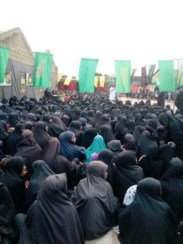 تصاویر/ مراسم عزاداری ابا عبدالله الحسین(ع) در شهر فنتوا نیجیریه
