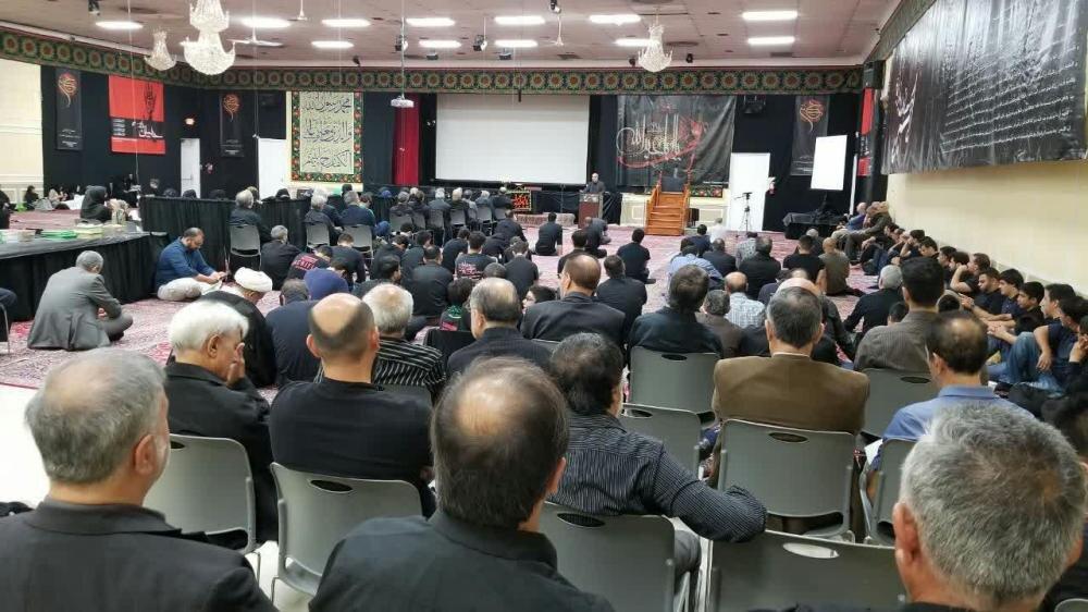 تصاویر/ حال و هوای مرکز اسلامی واشنگتن در ایام محرم