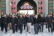 تصاویر/ حضور عزاداران امام حسین(ع) در آستان محمد هلال بن علی (ع) آران و بیدگل