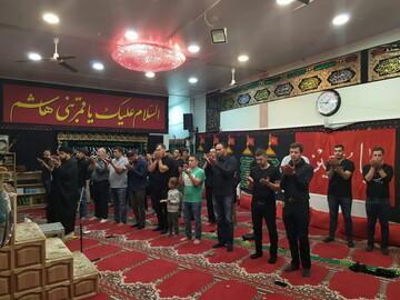 بالصور/ مراسم العزاء الحسيني في مركز أهل البيت (ع) بلجيكا