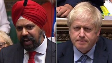 UK minority groups become unite together against Johnson's racist outbursts