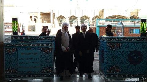 بازدید آیت الله اعرافی از موزه دین و دنیا