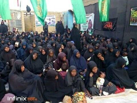 بالصور/ إقامة مجلس العزاء الحسيني في مدينة فنتوا بنيجيريا