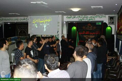 بالصور/ إقامة مجلس العزاء الحسيني في زيورخ سويسرا