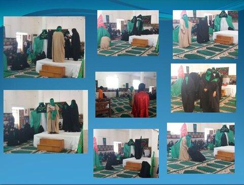 اجرای تئاتر در مدرسه علمیه الزهرا(سلام الله علیها) بندرعباس
