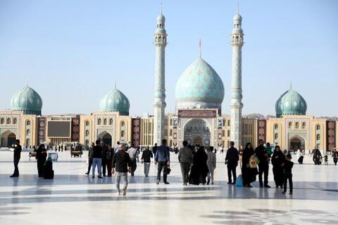 تصاویر/ مراسم دعای ندبه در مسجد مقدس جمکران