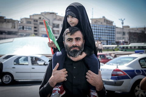 راهپیمایی و تجمع آمرین به معروف و ناهیان از منکر در تهران
