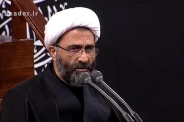 فیلم  مداحی حجت الاسلام اسلامی فر در حضور رهبر انقلاب