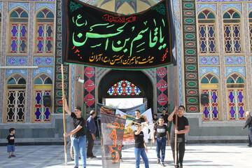 تصاویر/ عزاداری نوجوانان حسینی آران و بیدگل