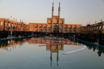 تجلی عزت حسینی در حسینیه ایران + تصاویر