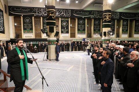 تصاویر/ اولین شب مراسم عزاداری حضرت اباعبدالله الحسین (ع) در حسینیه امام خمینی(ره)