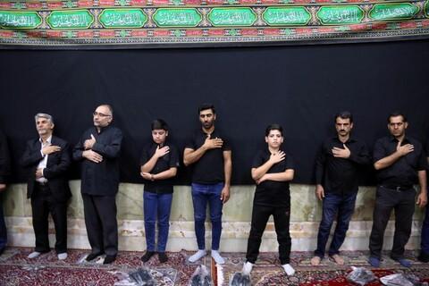 تصاویر/ هیئت عزاداری لُرزبان های مقیم قم