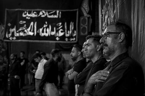 تصاویر/ مراسم سینه زنی اباعبدالله الحسین(ع) در مسجد ارشاد اهواز