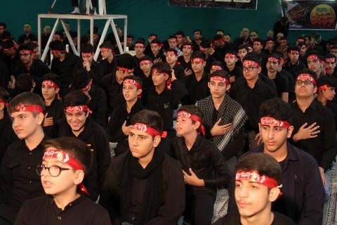 تصاویر/ عزاداری نوجوانان همدانی