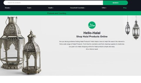 سرویس ویژه خرید اینترنتی محصولات اسلامی برای مسلمانان آمریکایی