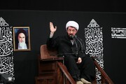 صوت| سخنرانی حجت الاسلام والمسلمین مسعود عالی در حضور رهبر انقلاب
