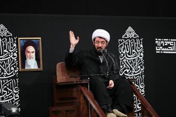 صوت  سخنرانی حجت الاسلام والمسلمین مسعود عالی در حضور رهبر انقلاب
