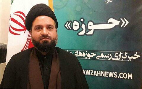 حجت الاسلام سید میر محمد حسینی سرپرست مدرسه علمیه آیت الله العظمی بروجردی(ره) کرمانشاه