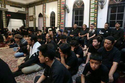 تصاویر/ عزای حسینی در بانکوک پایتخت تایلند