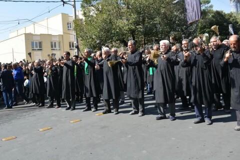 تصاویر/ اجتماع عزاداران ابرکوهی در هشتم محرم