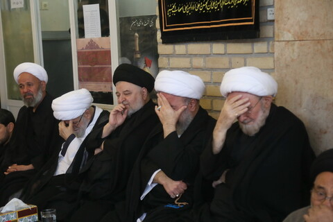 تصاویر/ مراسم عزاداری اباعبدالله الحسین(ع) در بیت آیت الله العظمی سیستانی
