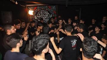 تصاویر/ مراسم عزاداری دانش آموزان تهرانی در دهه اول محرم یه همت مبلغان طرح امین