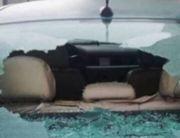 Illegal Israeli colonists attack Palestinian cars and homes near Nablus