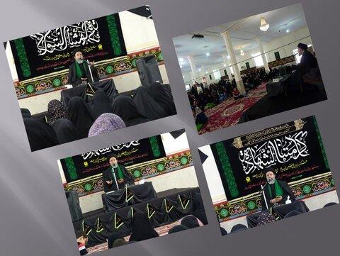 مراسم تاسوعاي حسيني در مدرسه علميه الزهرا(س) بندرعباس