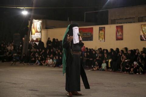 تصاویر/ تعزیه خیابانی شهادت حضرت عباس(ع) در منطقه کیانآباد اهواز