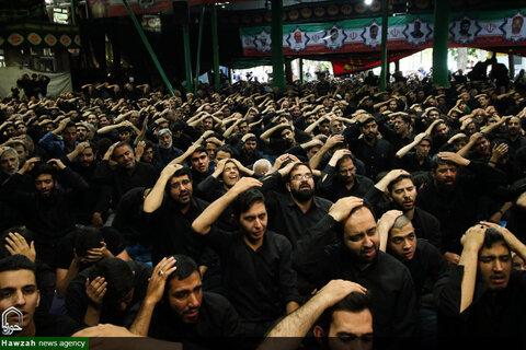 اجتماع هیات مذهبی عصرتاسوعا در آسایشگاه جانبازان اصفهان