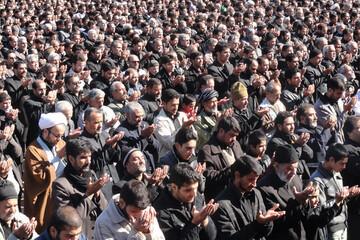 نماز ظهر عاشورا در بیش از هزار نقطهاستان یزد برگزار شد