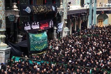برنامههای عزاداری تاسوعا و عاشورای حسینی در حرم مطهر بانوی کرامت