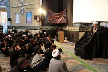 تصاویر/ مراسم مقتلخوانی در مدرسه علمیه معصومیه(س)