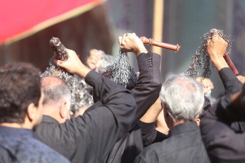 تصاویر/ حال و هوای عاشورای حسینی در حرم حضرت معصومه(س)