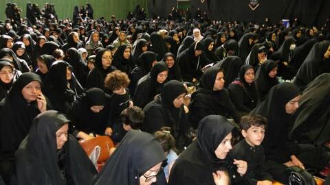 تصاویر/ عزاداری بانوان همدانی در عاشورای حسینی