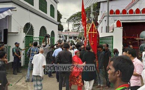 مراسم عزاداری حسینی در بنگلادش باشکوه برگزار شد + تصاویر