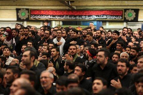 بالصور/ مجلس العزاء الحسيني في ليلة العاشر من محرم بحضور الإمام الخامنئي